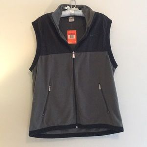 NWT Nike green fleece vest, size L